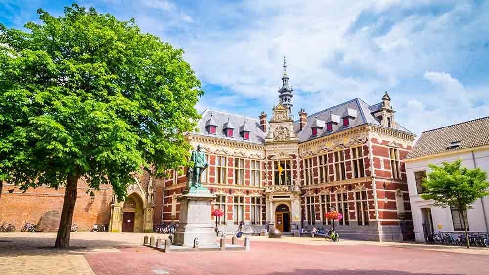 Dom Square at the University of Utrecht