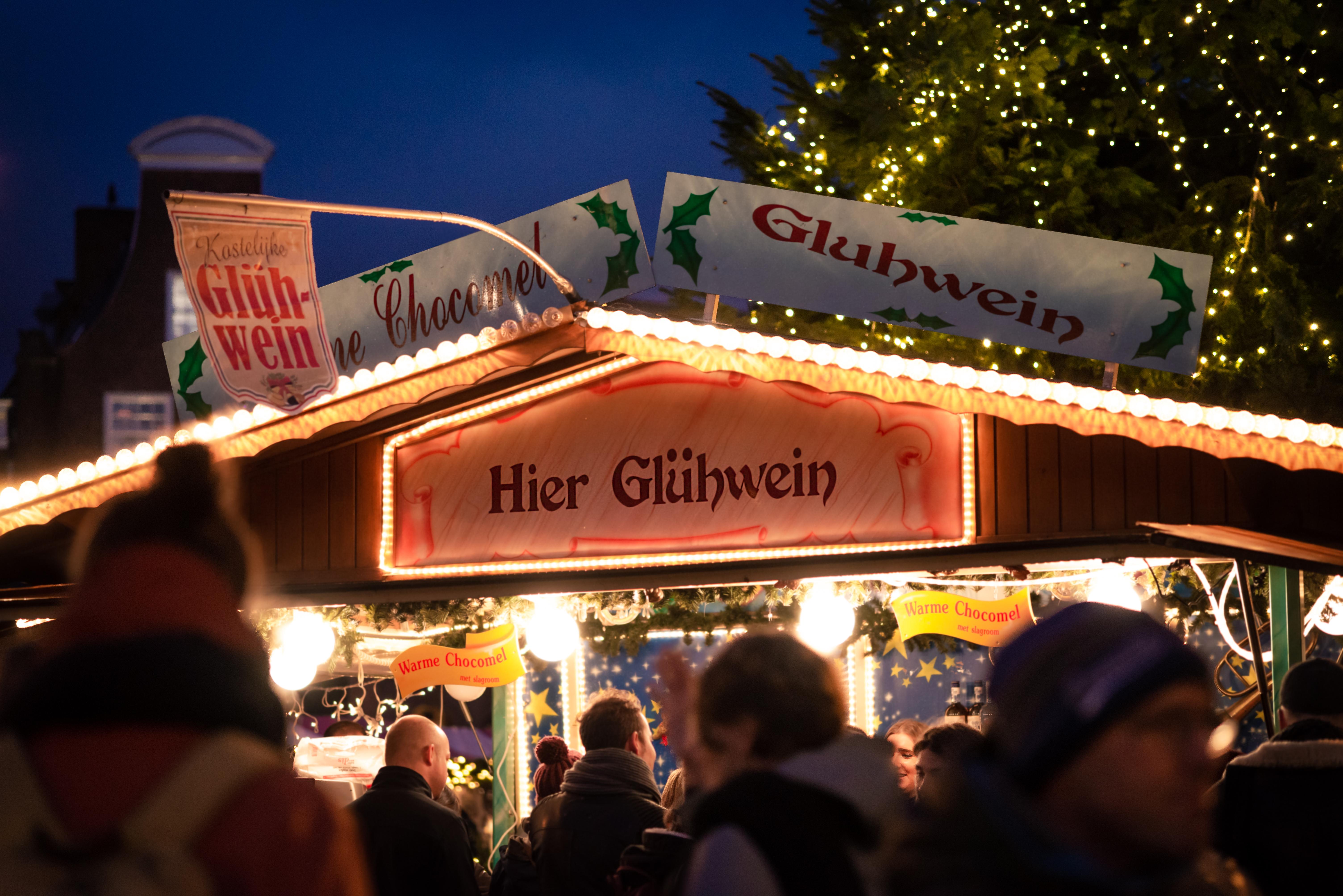 Glhwein in the Netherlands