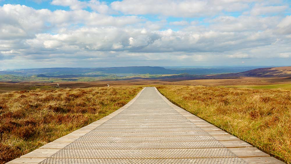 Cuilcagh Mountain Park walk in County Fermanagh