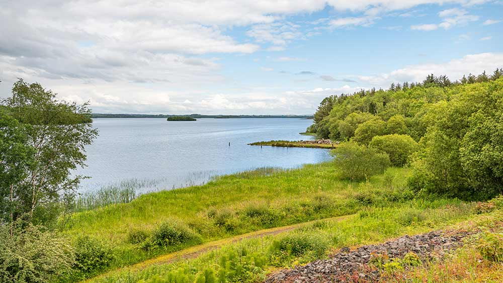 Lower Lough Erne in County Fermanagh