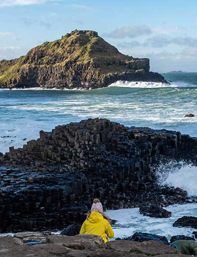 Visit the Giant's Causeway as a family