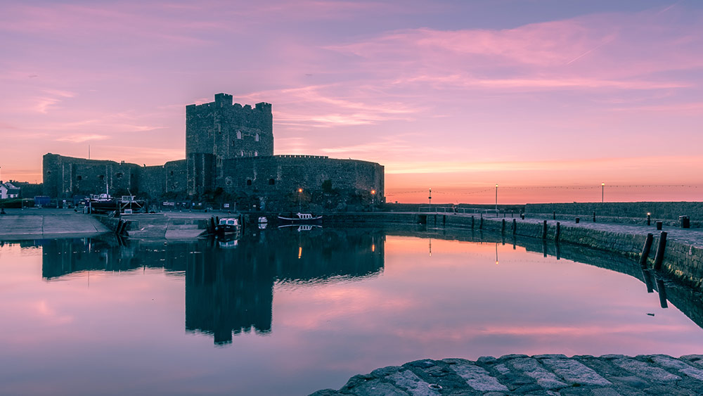 Carrickfergus kasteel bij Larne