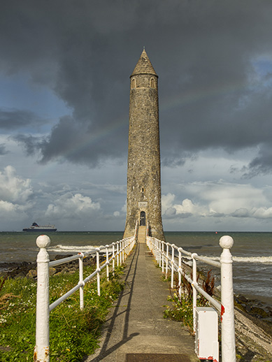 Chaine Tower in Larne