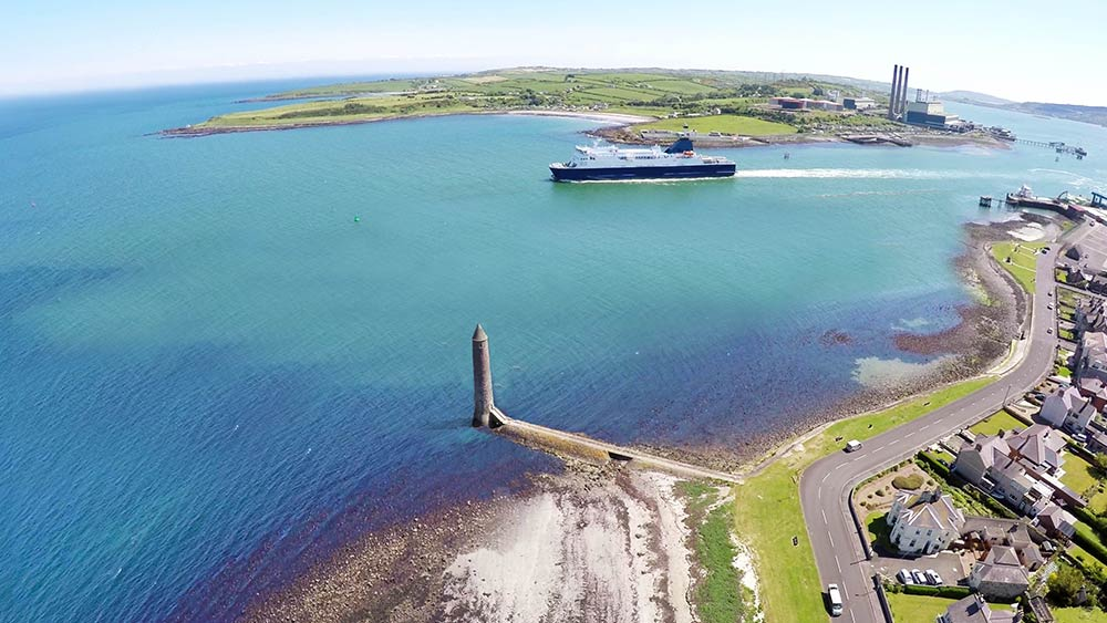 Larne Chaine Tower & Harbour