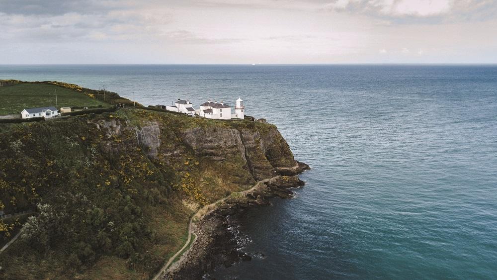 Blackhead Coastal Path in Northern Ireland