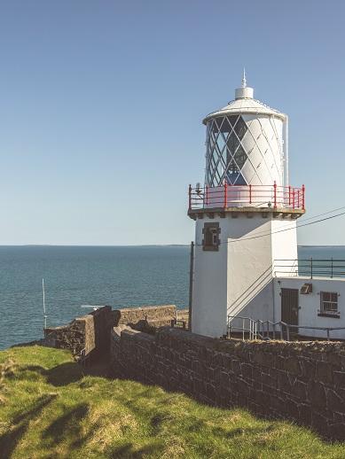 Blackhead Lighthouse in Whitehead - Northern Ireland