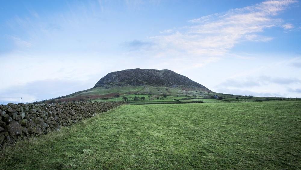 Slemish Mountain in Northern Ireland