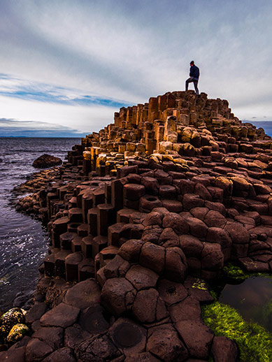 Giant Causeway in Northern Ireland