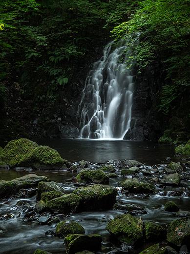 Glenoe waterfall near Larne