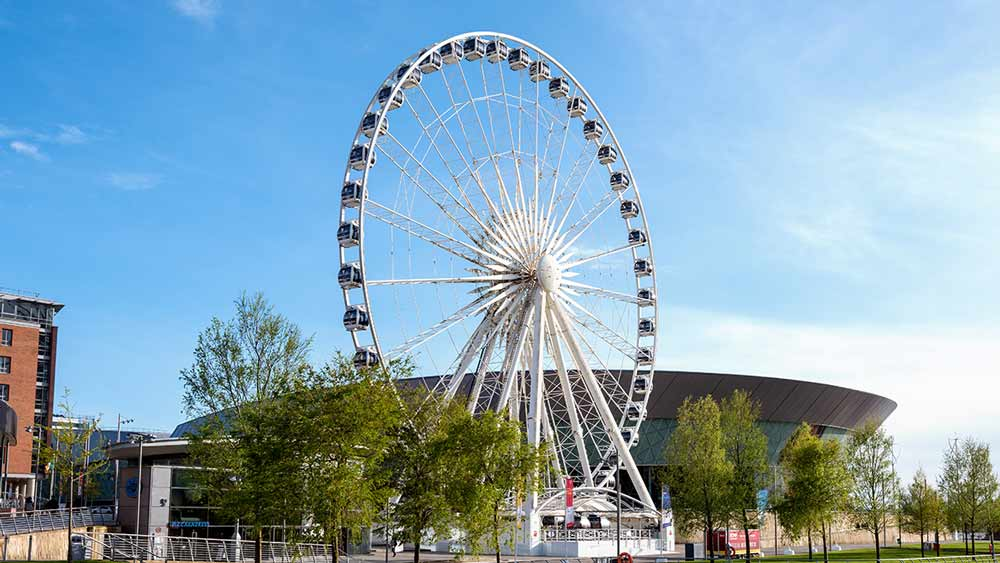 Ferris Wheel in Liverpool