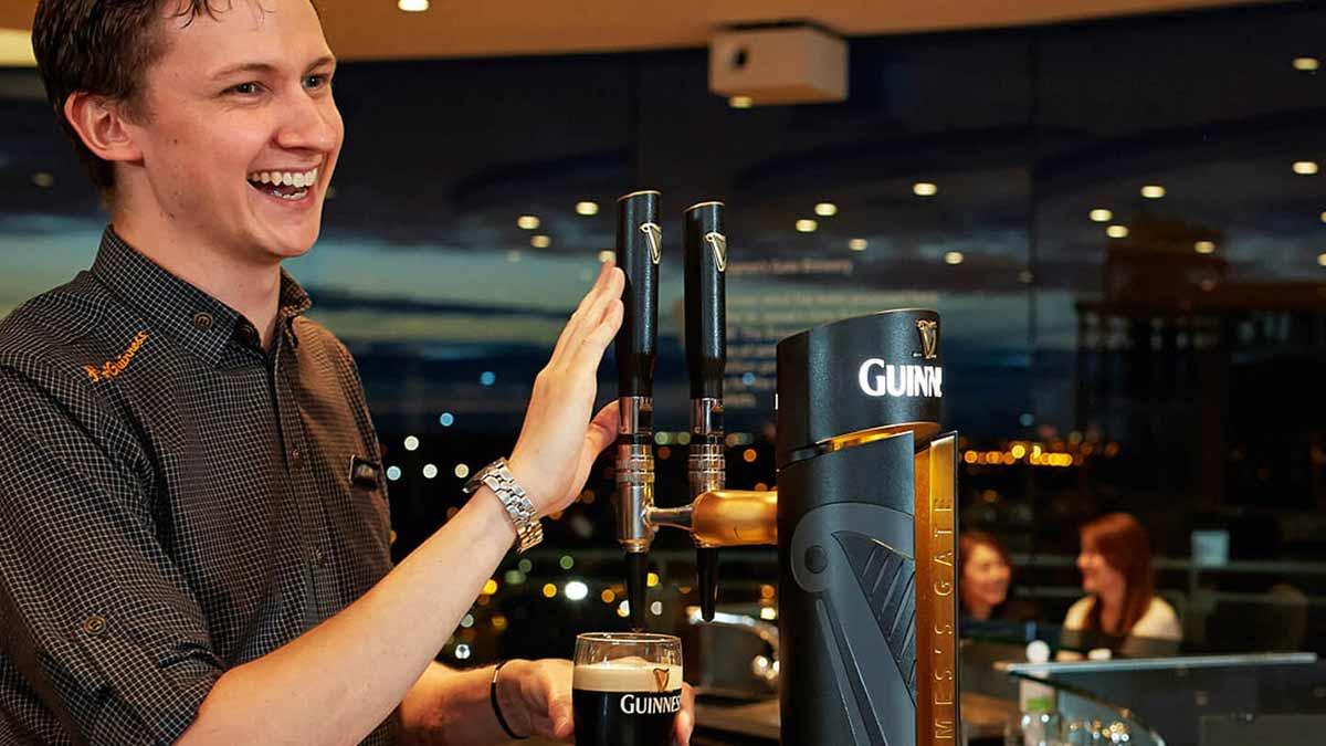 Guinness Gravity Bar, Dublin