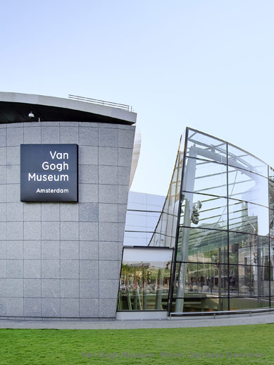 Van Gogh Museum with Amsterdam Mini Cruise at P&O Ferries.