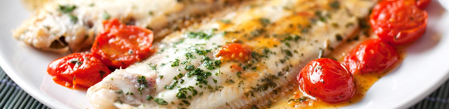 Dover sole in Ostend with Mini Cruise P&O Ferries.