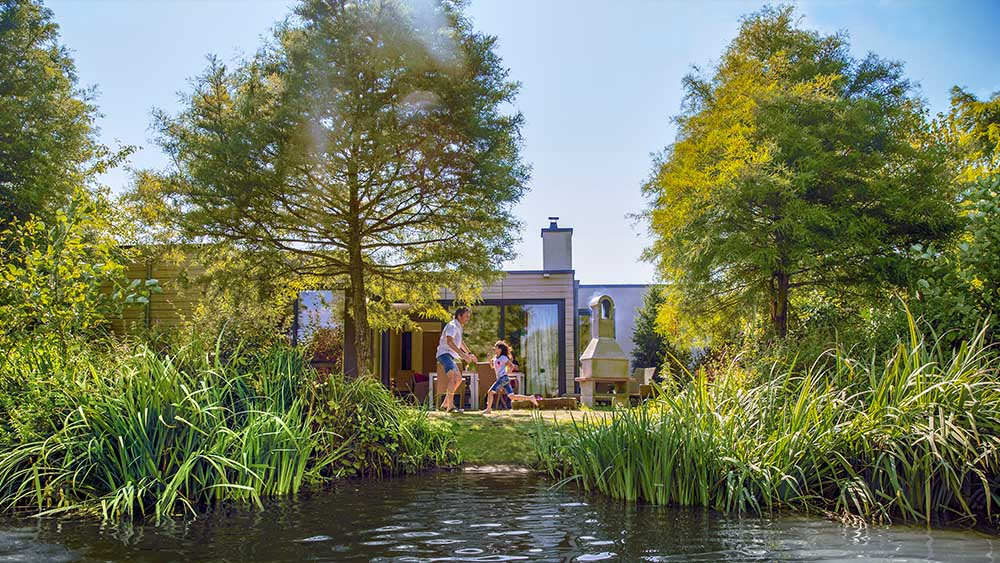 Center Parcs Europe in the Spring