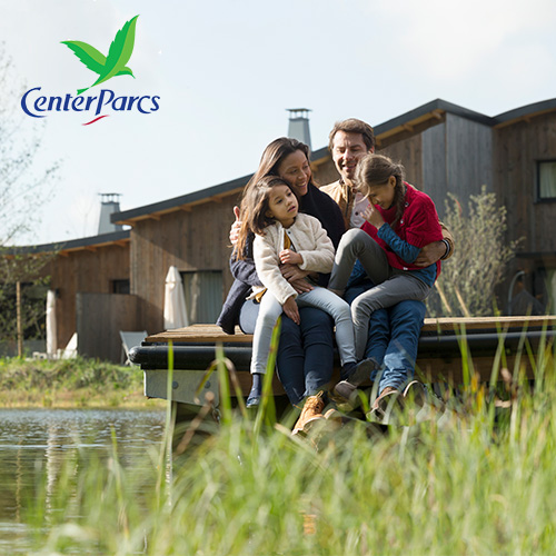 Family at Center Parcs Europe
