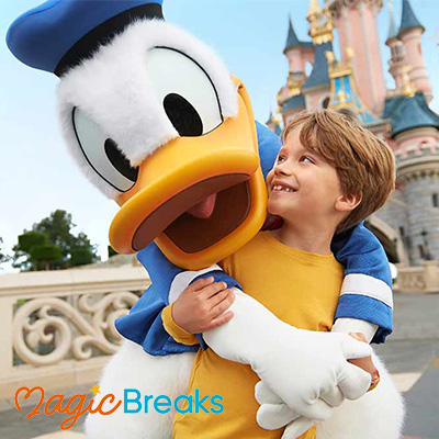 Child at Disneyland Paris