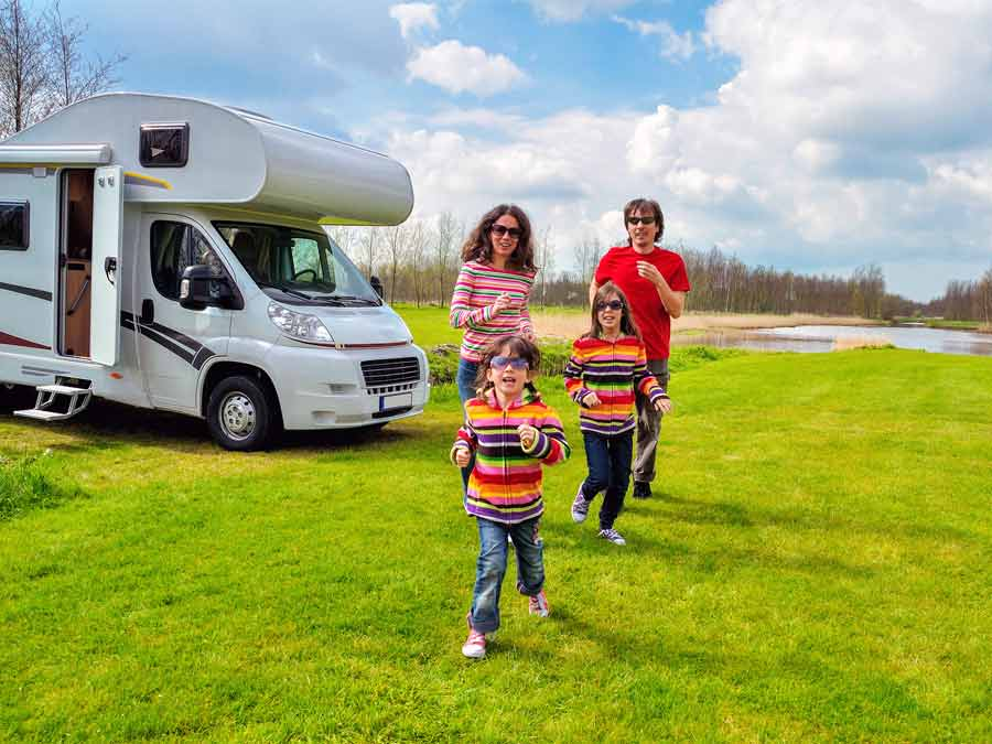 Motorhome offer Cairnryan to Larne