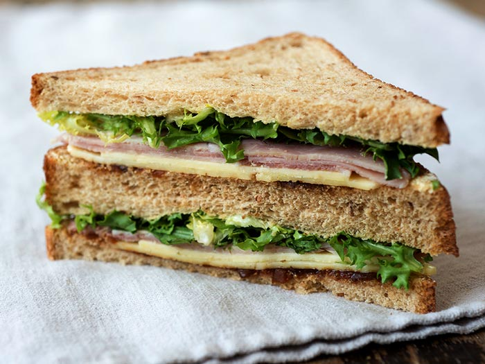 Ham And Cheese Sandwich available from our coffee shop