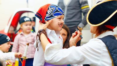 Kinderclub - spelen met Piet Piraat