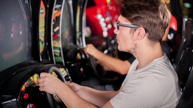 Salle d'arcade vidéo