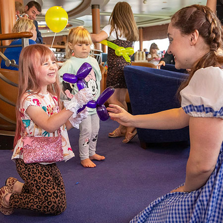 Onboard event with P&O Ferries, kids entertainment
