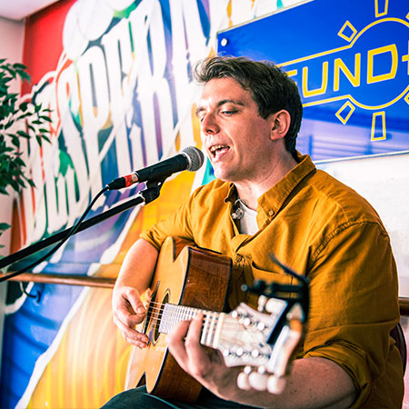 Music at onboard event with P&O Ferries