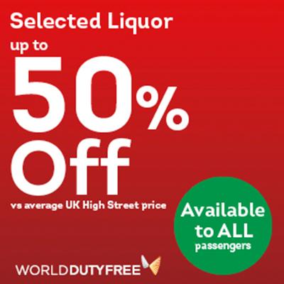 World Duty Free Shopping Duty Free Savings P&O Ferries