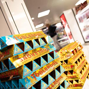 Chocolate and confectionery available from our World Duty Free Shop