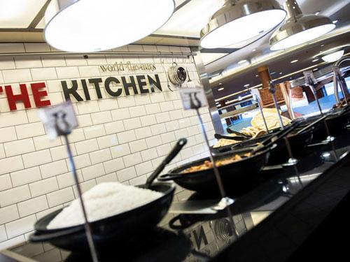 The Kitchen propose également son choix de curry