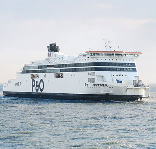Reisen mit P&O Ferries