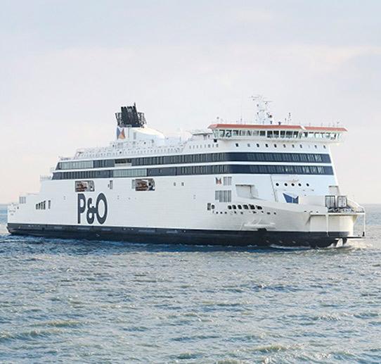 Reizen met P&O Ferries