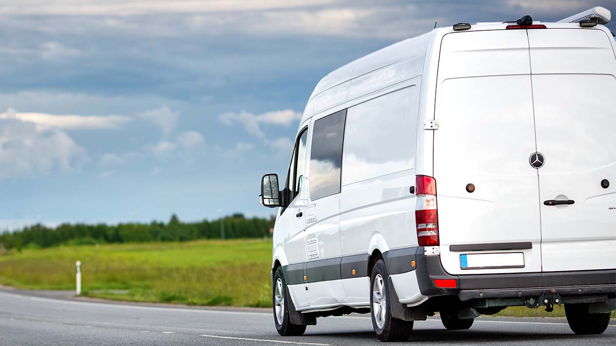 Travelling with a van to Europe