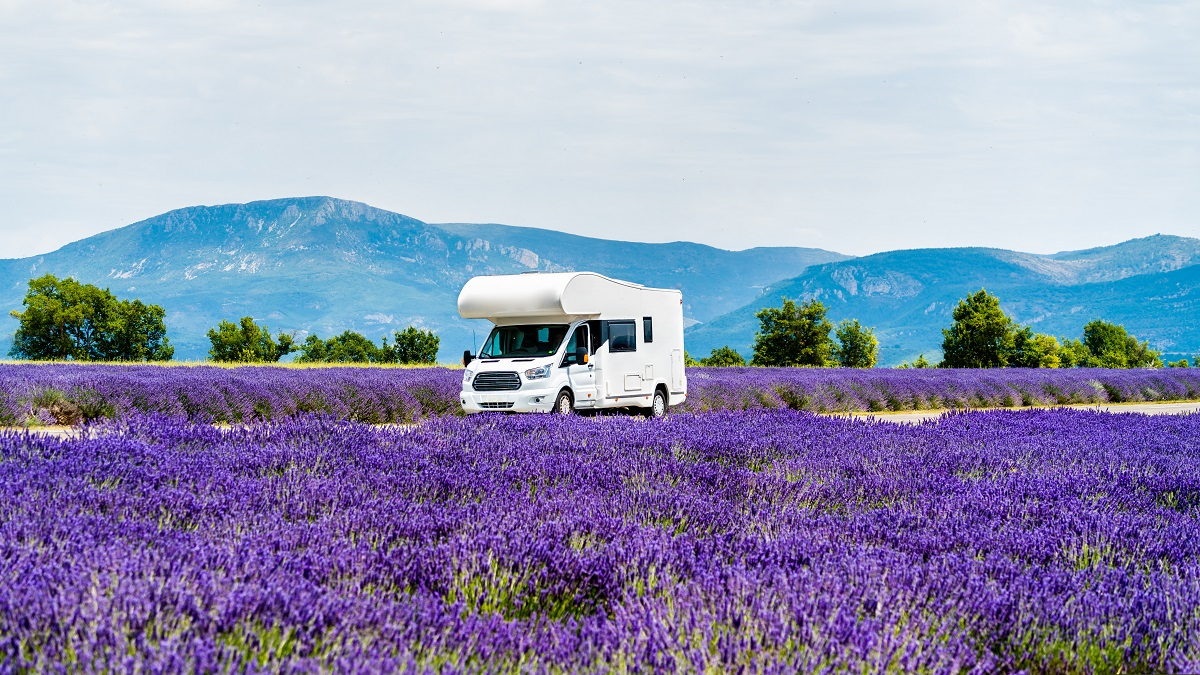 Take your motorhome or caravan to France by ferry.