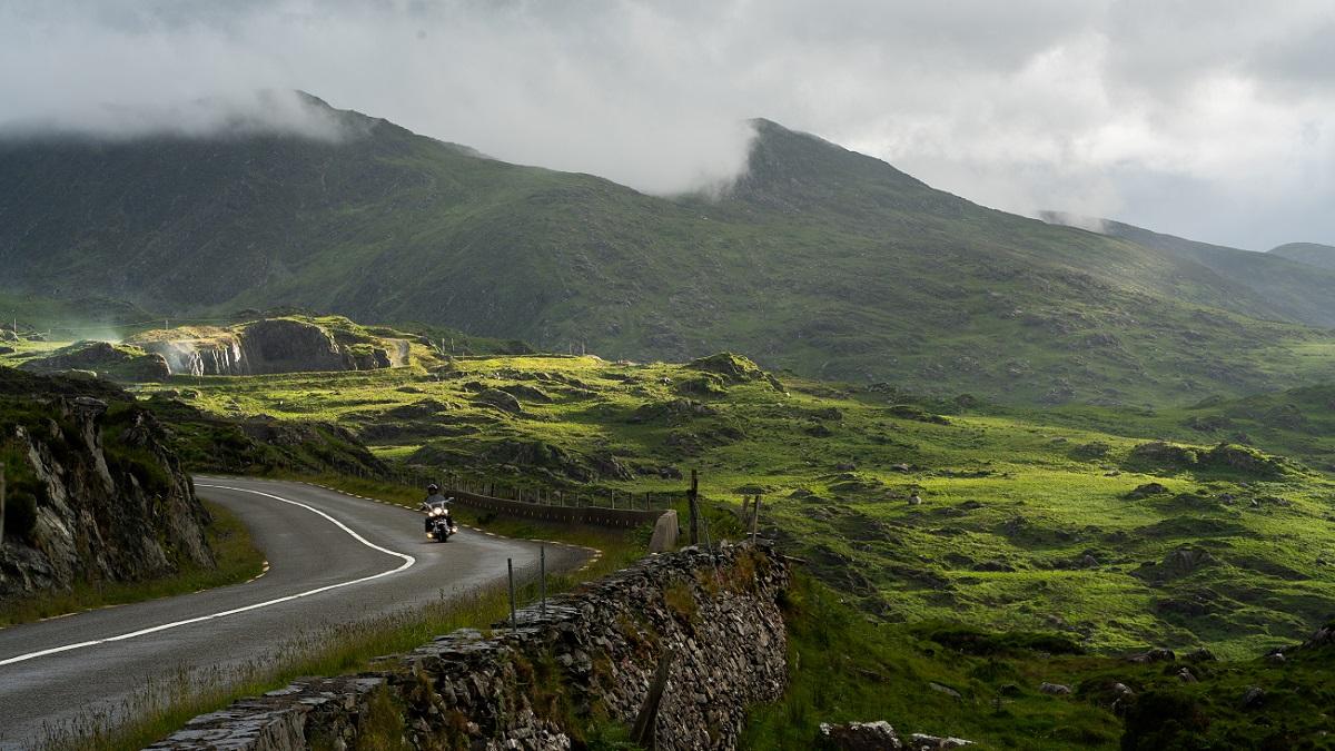 Taking a motorbike to Ireland by ferry