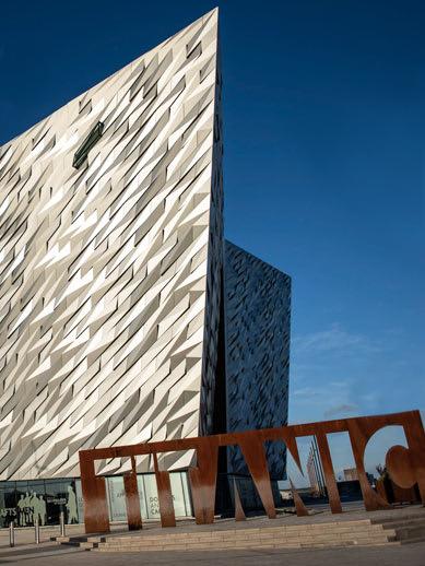 Visit the Titanic Museum in Belfast via ferry