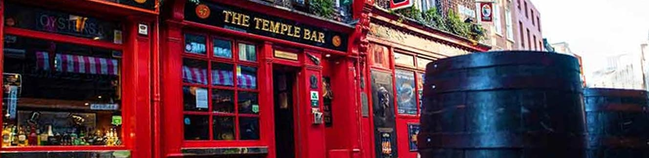 Visit Temple Bar in Dublin by ferry
