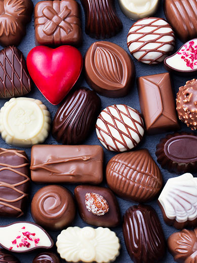Hull-Zeebrugge Belgian chocolates